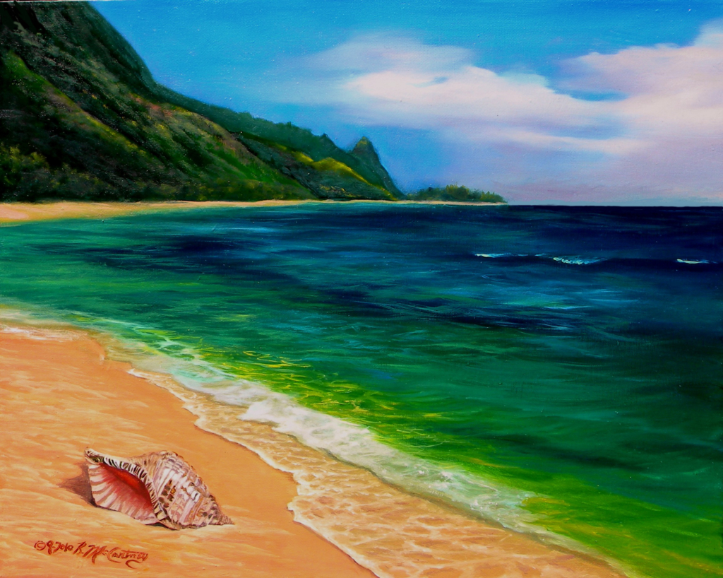 Washed up on Kauai Shores